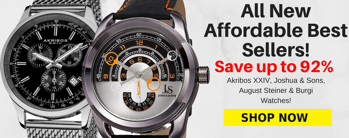 Affordable Best Selling Watches