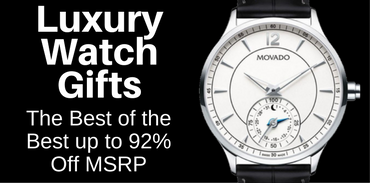 Luxury Watch Holiday Gifts